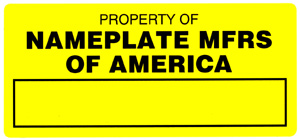 Nameplate Manufacturers of America, Inc.